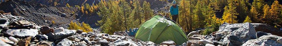 Uppblåsbara tält